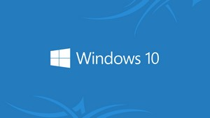 HD 1920x1080 Windows 10 wallpaper Minimal inserts Windows 10 logo