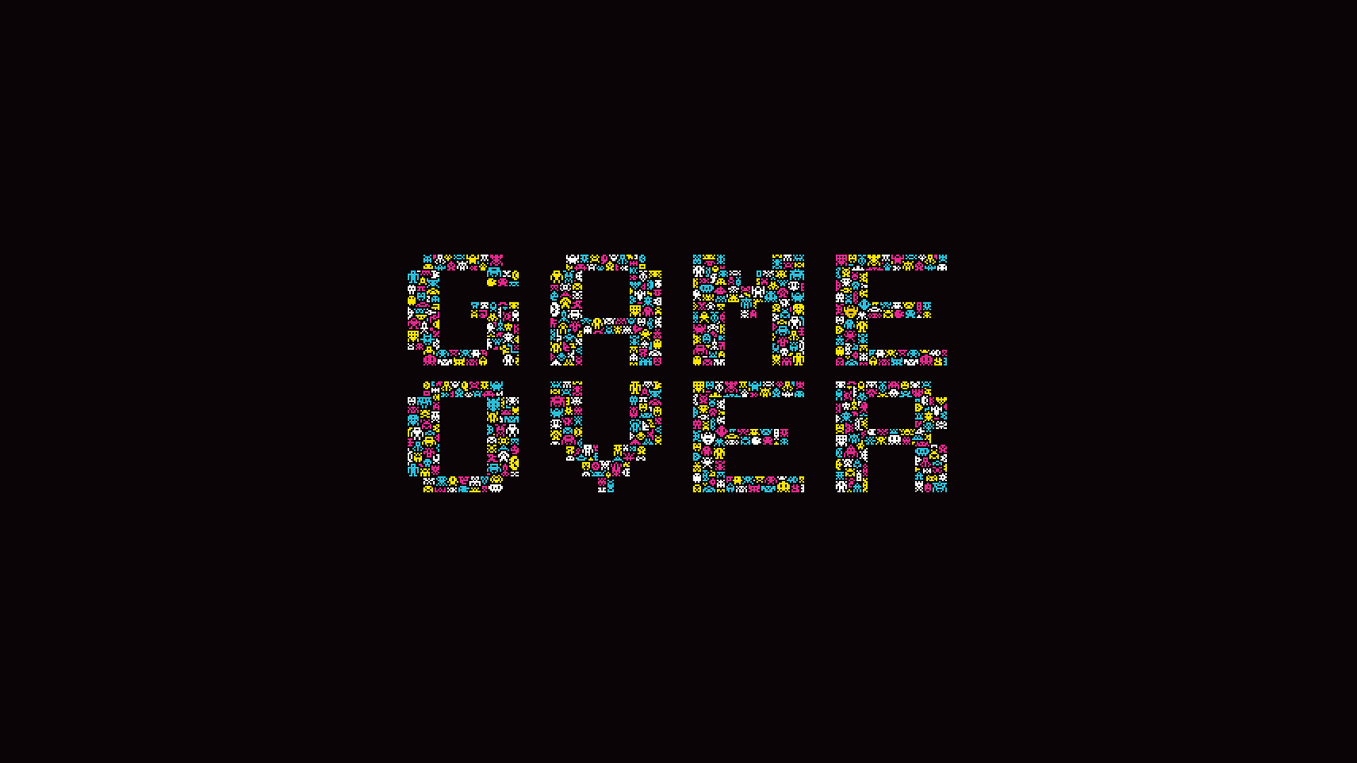 Game Over Windows 10 Wallpaper Games Hd 1920x1080 Wallpapers