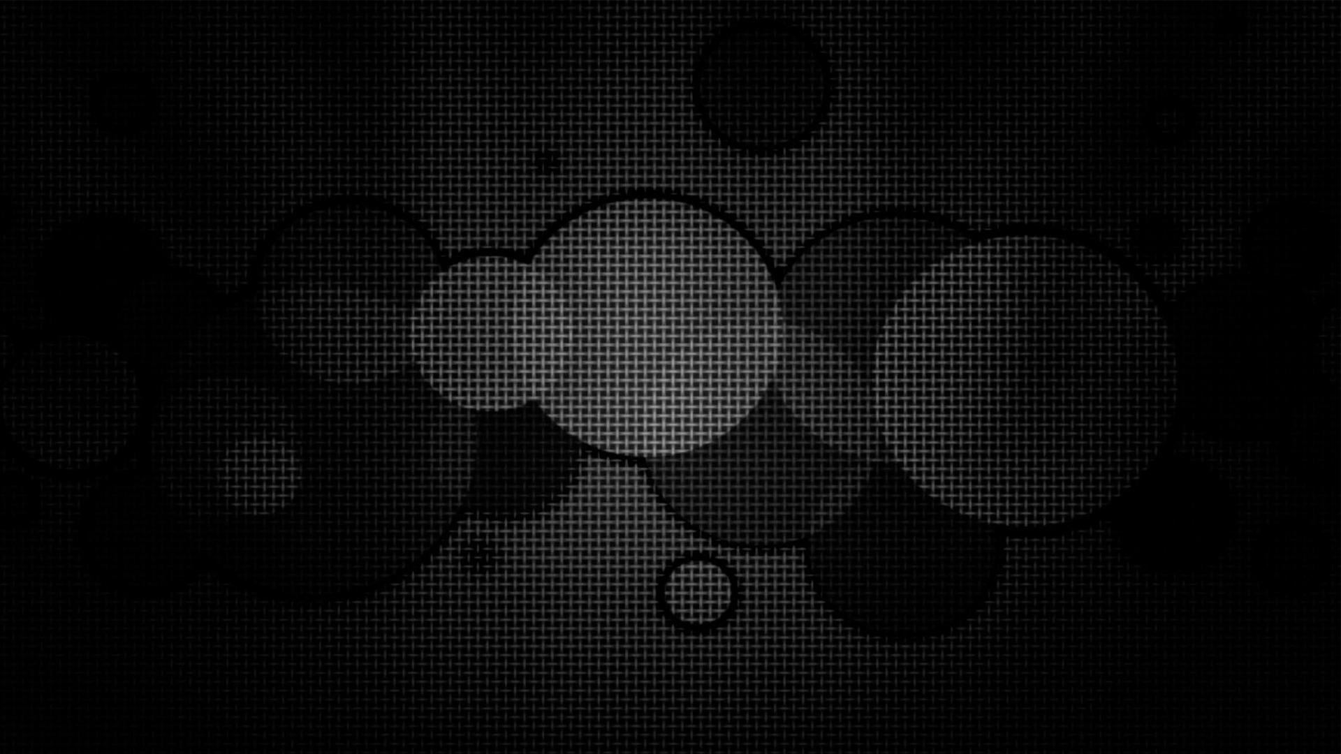 Iconic Black Dots Windows 10 Wallpaper Dark Hd 1920x1080