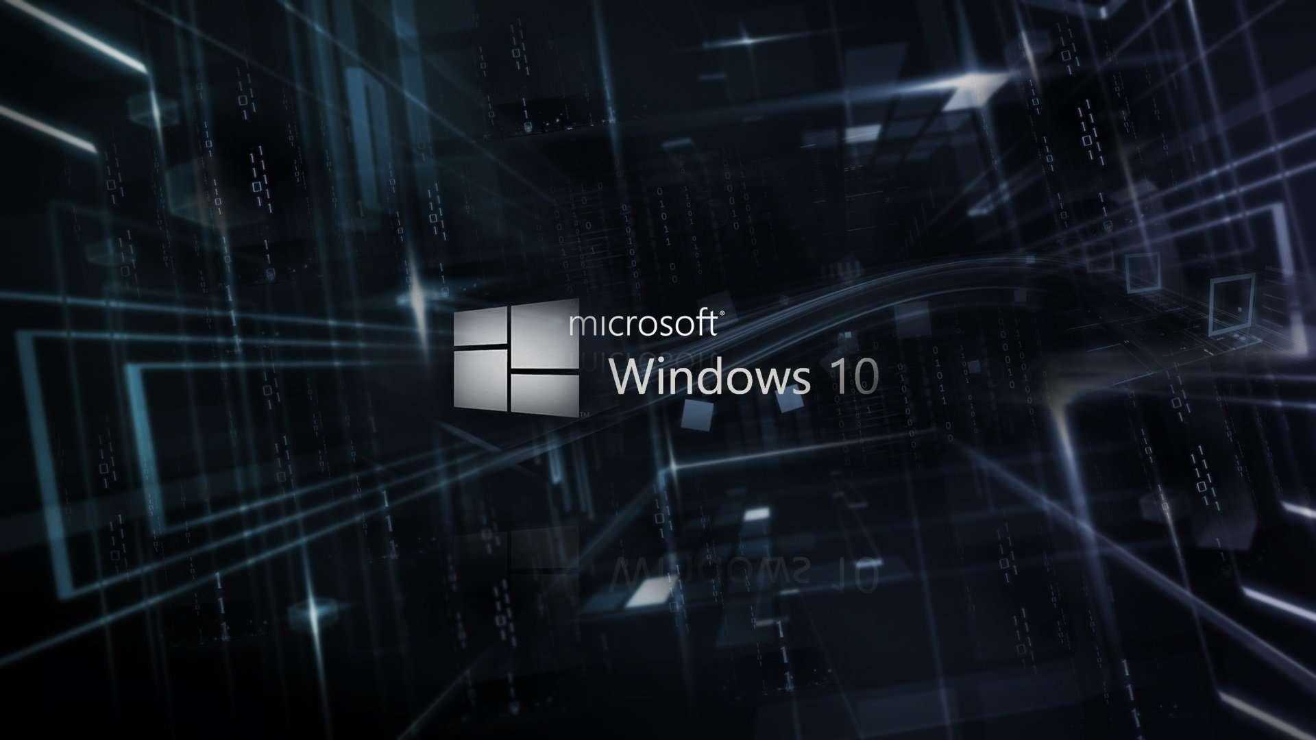 hd windows 10 wallpaper windows 10 logo hd 1920x1080 On window 10 wallpaper