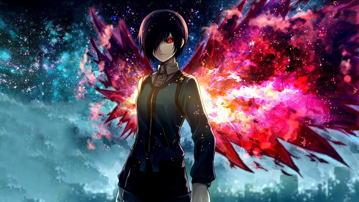 Tokyo Ghoul Windows 10 Wallpaper Anime 1366x768 Wallpapers